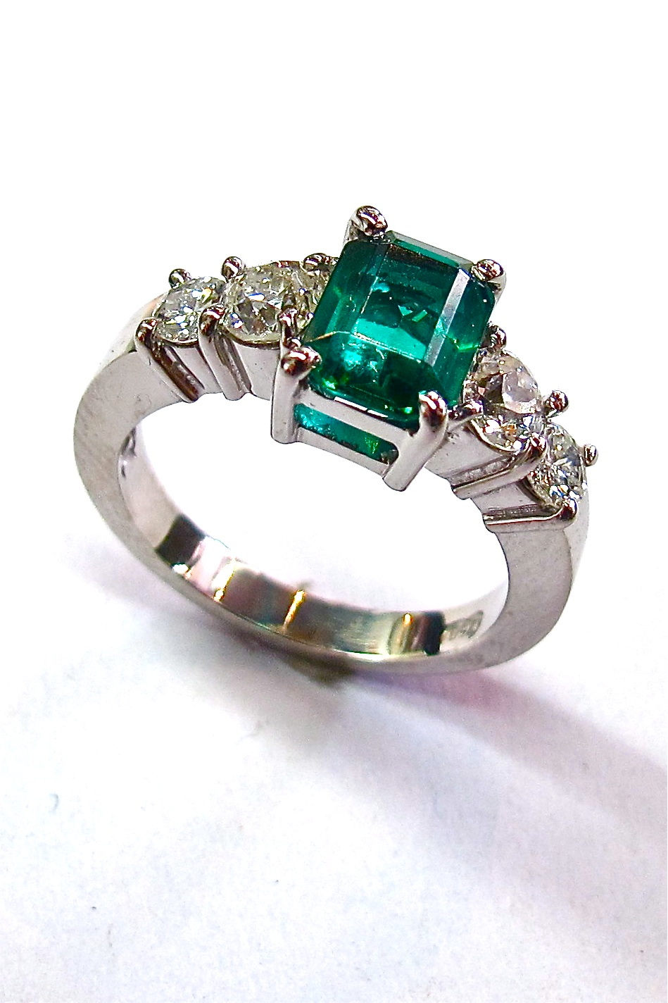 engagement semi ring rings stone solitaire with index precious semiprecious